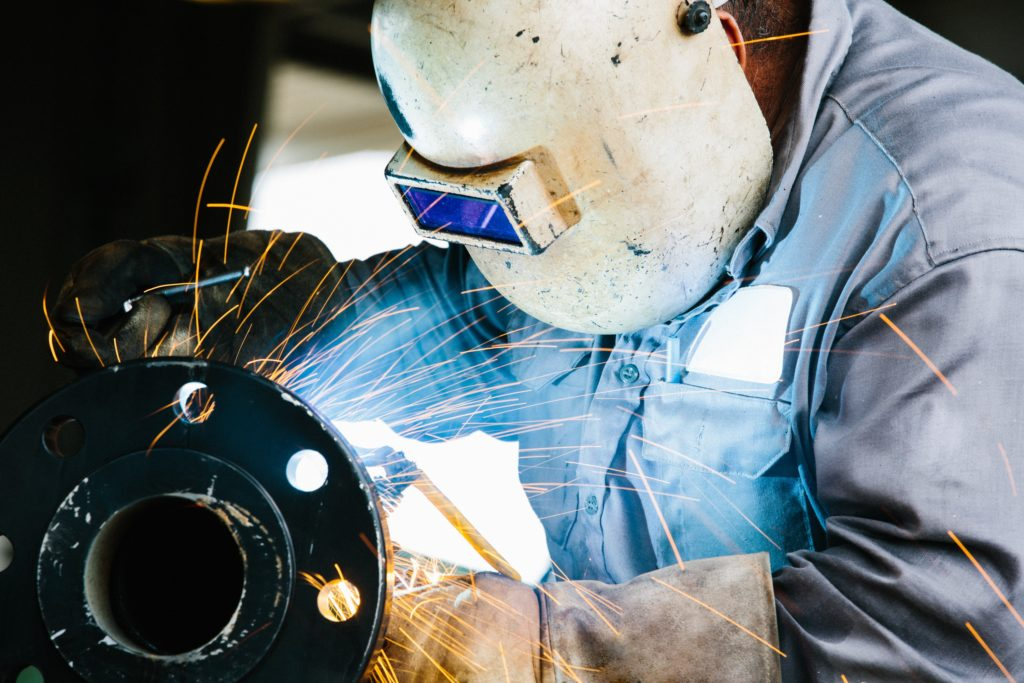 Fibre-Metal Pipeliner Fiberglass Welding Helmet with Rubber Headband 110PWE